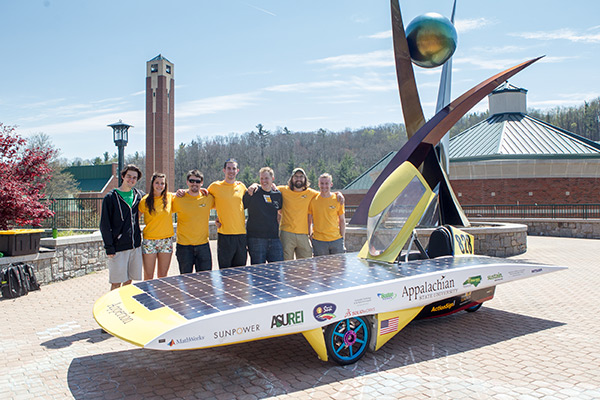Team Sunergy: Appalachian State University Solar Vehicle Team