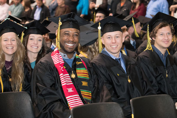 Appalachian graduates 1,475 at December 2017 commencement ceremonies